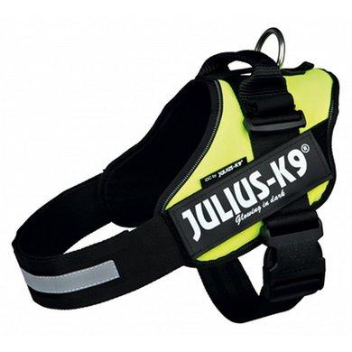 Julius K9 Idc Harnas/Tuig Neon Geel 0/58-76cm