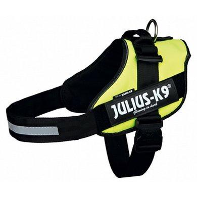 Julius K9 Idc Harnas/Tuig Neon Geel 3/85-112cm