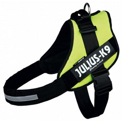 Julius K9 Idc Harnas/Tuig Neon Geel 4/96-138cm