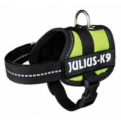 Julius K9 Power-harnas/tuig Labels Lime Baby 1/30-40cm