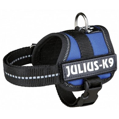 Julius K9 Power-harnas/tuig Labels Blauw Baby 1/30-40cm