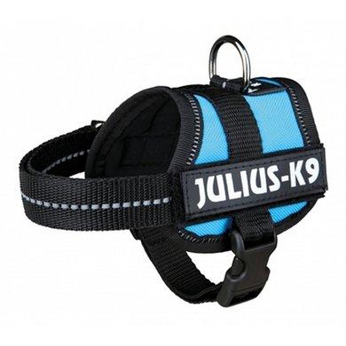 Julius K9 Power-harnas/tuig Labels LichtBlauw Baby 1/30-40cm