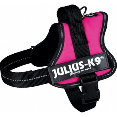 Julius K9 Power-harnas/tuig Labels Fuchsia Mini/51-67cm