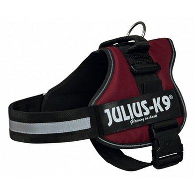 Julius K9 Power-harnas/tuig Labels Bordeaux 3/82-118cm