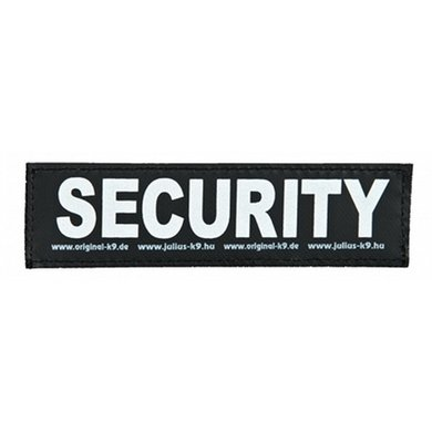 Julius K9 Labels Voor Power-harnas/Tuig Security Small