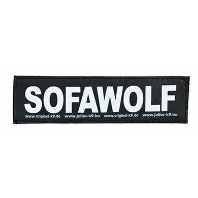 Julius K9 Labels Voor Power-harnas/Tuig Sofawolf Small
