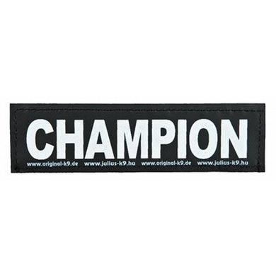 Julius K9 Labels Voor Power-harnas/Tuig Champion Large