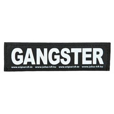 Julius K9 Labels Voor Power-harnas/Tuig Gangster Large