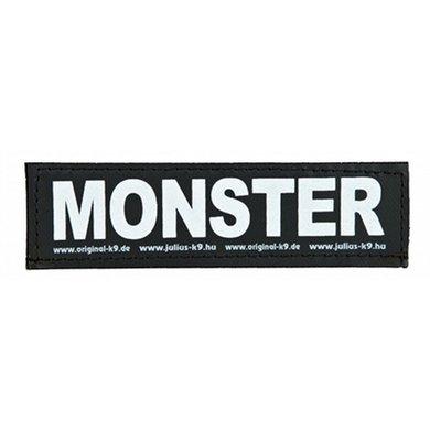 Julius K9 Labels Voor Power-harnas/Tuig Monster Large