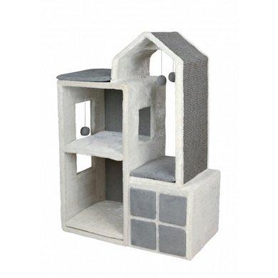 Trixie Gala Katten Toren Wit/Grijs 73x41x105cm