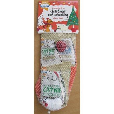 Good Girl Christmas Kerstsok Met Snacks En Speelgoed 5 St