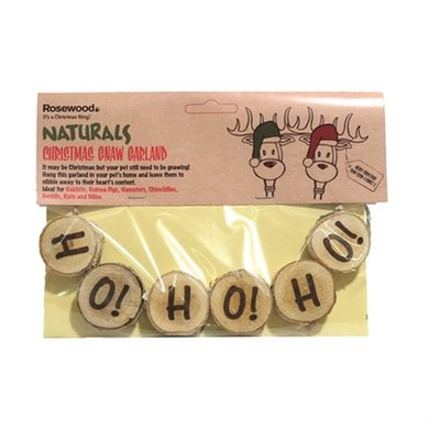 Naturals Kerst Gnaw Guirlande Ho!ho!ho! 24cm