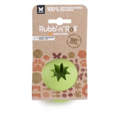 Rubbnroll Snack Bal Groen 7cm