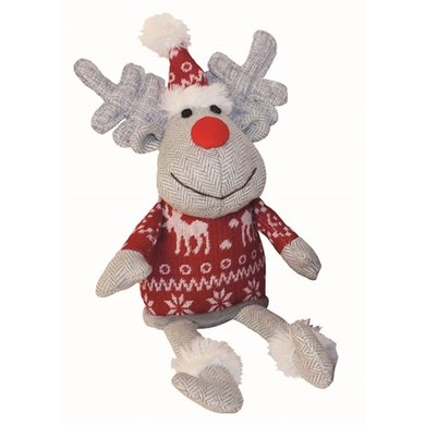 Happy Pet Doggy Delights Mr Prancer Knuffel Rendier 20x34cm