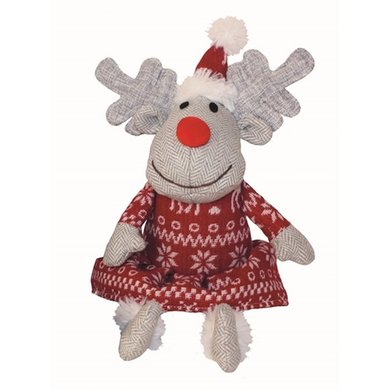 Happy Pet Doggy Delights Mrs Prancer Knuffel Rendier 21x32cm