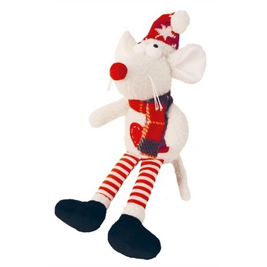 Happy Pet Doggie Delights Knuffel Ruby Rat 21x41cm