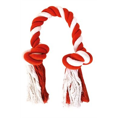 Happy Pet Festive Candy Stripe Flostouw Knots 39x11cm