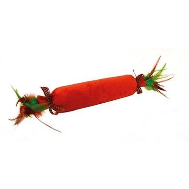 Happy Pet Festive Kat Crackler Rood 50x13x8cm