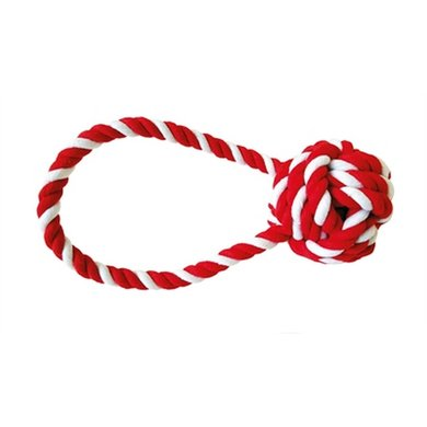 Happy Pet Festive Flostouw Candy Stripe Tugger 20x7cm