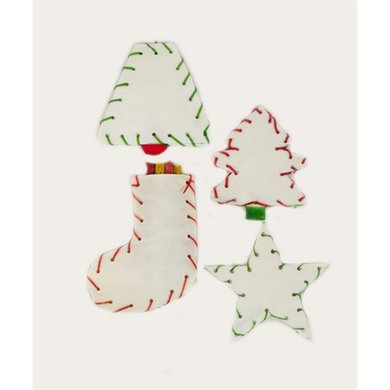 Petbrands Festive Buffelhuid Kerstboom Snacks 4 St