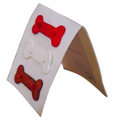 Petbrands Festive Buffelhuid Kauwkaart 14.5x12.5cm