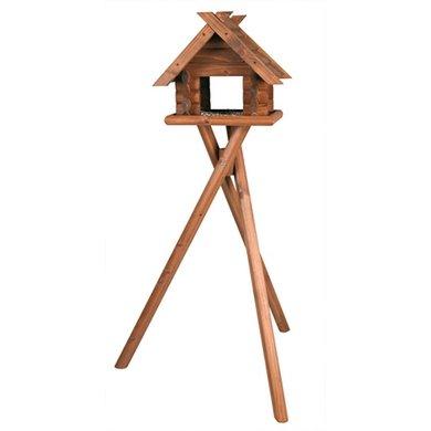 Trixie Natura Vogel Voederhuisje Op Standaard 47x40x36/140cm