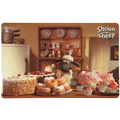 Shaun The Sheep Placemat Shaun Met Gebak 44x28cm