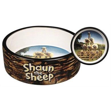 Shaun The Sheep Voerbak Keramiek Bruin 16cm