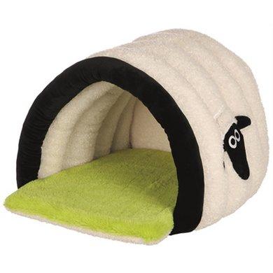 Shaun The Sheep Kattenmand Cuddly Cave Crem/groen 45x35x50cm