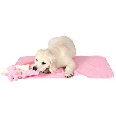 Trixie Puppyset Roze Met Deken/speelgoed/handdoek 76x50cm