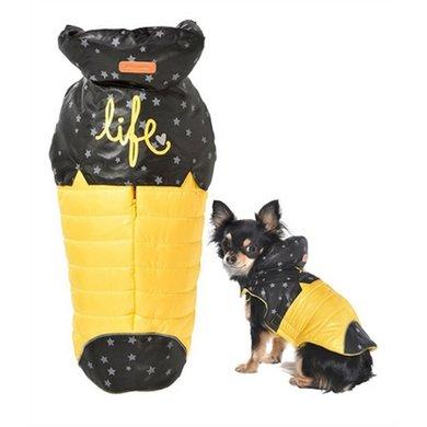 Bobby Hondenjas Life Geel/Zwart Ster 48x58-70cm