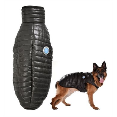 Bobby Hondenjas Explo Zwart 60x67-77cm