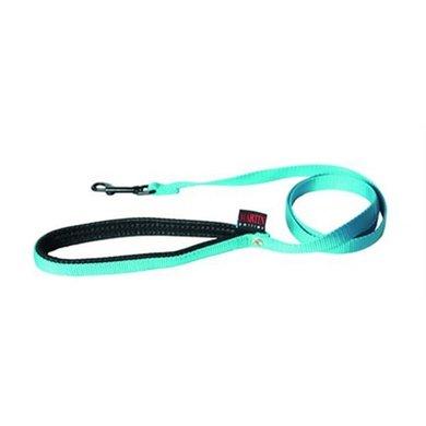 Martin Sellier Looplijn Nylon Turquoise 25mm 120cm