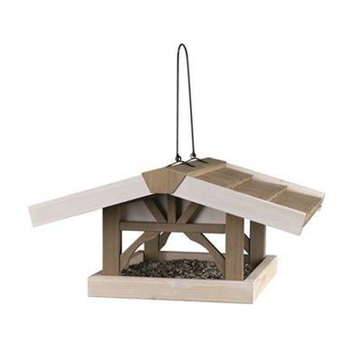 Trixie Nature Vogelhuis Hang Grijs/Wit 46x22x44cm