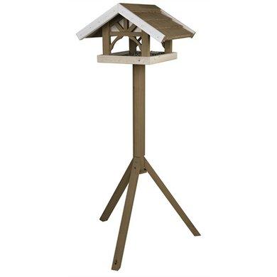 Trixie Nature Vogelhuis Opstandaard Grijs/Wit 125x45x28cm