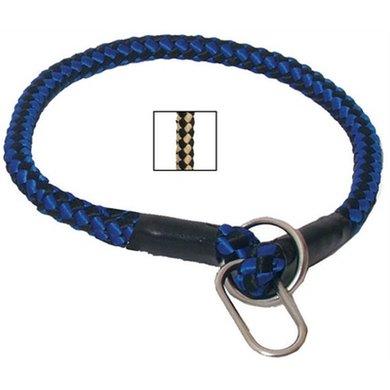 Nylon Wurgband Beige/zwart 15mm 70cm