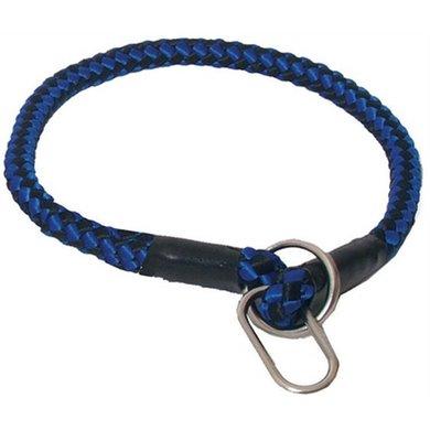 Nylon Wurgband Blauw/zwart 1mm 70cm
