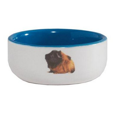 Caviavoerbak Ceramic Blauw