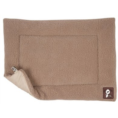 Yap Floor Mat Lambswool Lightbrown
