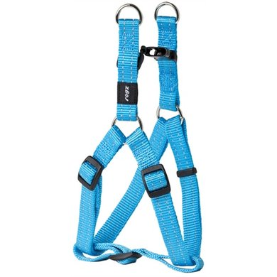 Rogz For Dogs Snake Step-in H Turquoise 16mmx42-61cm