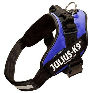 Julius K9 Power-harnas/tuig Blauw Maat 3/85-112cm