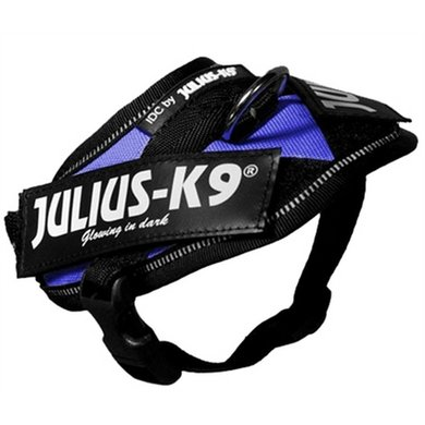 Julius K9 IDC Power-harnas/tuig voor Labels Blauw