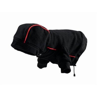 Hunter Hondenjas Fleece Zwart 35cm