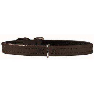 Hunter Halsband Tiny Petit Nappa Zwart/zwart 24x0.8cm
