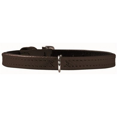 Hunter Halsband Tiny Petit Nappa Zwart/zwart 30x0.8cm
