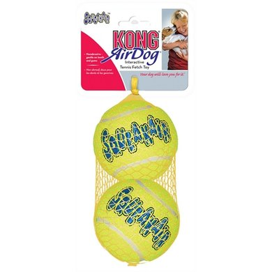 Kong Air Squeaker Net A 2 Tennisbal Incl piep Large