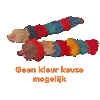 Kattenspeelgoed Bontmuis Met Buigbare Langstaart