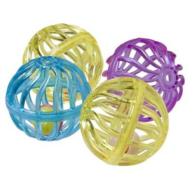 Adori Spielzeug Ball mit Klingel 4 St