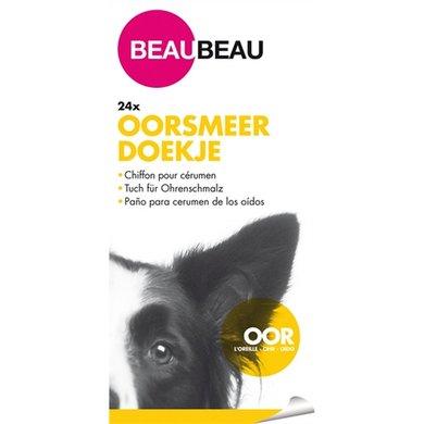 Beau Beau Vochtige Oorsmeer Doekjes 24 St