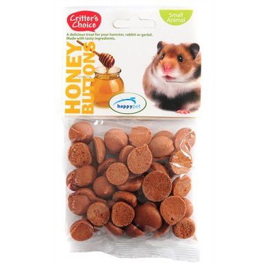 Critters Choice Honey Buttons 6st
